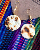 Tortilla Dangle Earrings