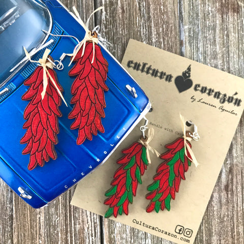 Chile Ristra NM Earrings