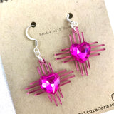 Zia Valentina Heart Earrings
