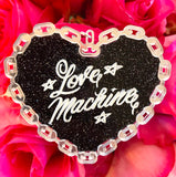 Love Machine Car Ornament