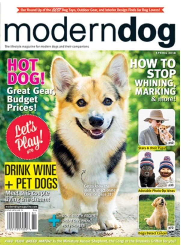 "Barkerstown Brew Featured as a ""Fave Find""in Modern Dog Magazine!"