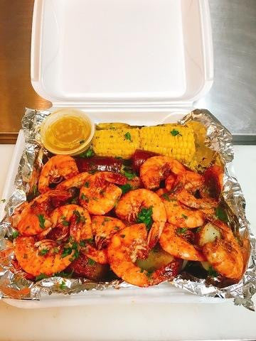 Spicy Garlic Shrimp Combo