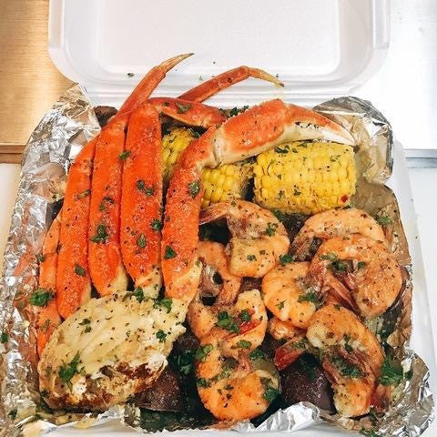 Garlic Cluster & Shrimp Combo