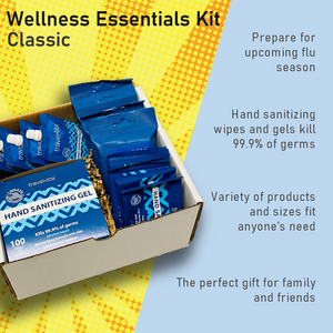 Wellness Essentials Kit-Mega- 118 Piece of Hand Sanitizing Assortments