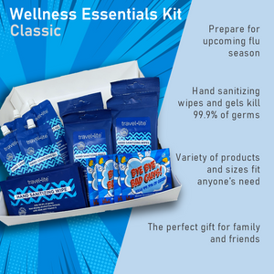 Wellness Essentials Kit-Classic- 18 Piece of Hand Sanitizing Assortments