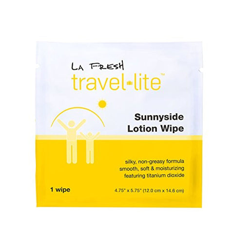 La Fresh® Travel Lite® Sunnyside Lotion - 200 Wipes Bulk