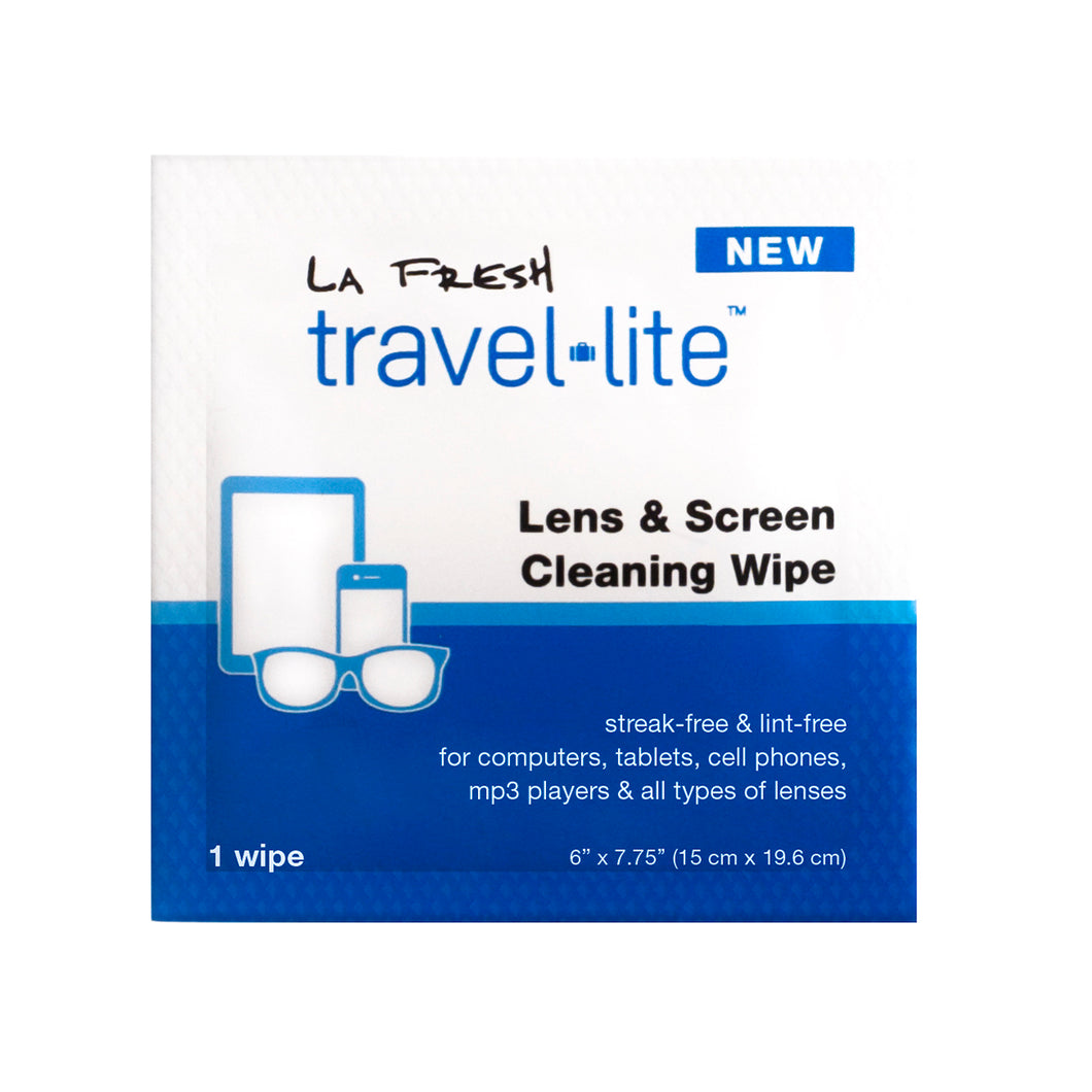 La Fresh Travel Lite Lens Cleaning Wipes - 200 count **