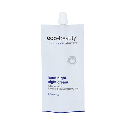 Eco-Beauty® Be Good.™ Good Night. Night Cream Travel Size Pouch - 15g