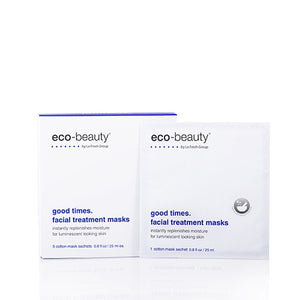 LA Fresh Eco-Beauty Be Good Good Times Facial Treatment Masks