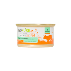 OSOPURE Feline Grain Free Tuna & Salmon Canned Cat Food (24 pack)