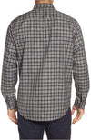 Bugatchi Windowpane Check Cotton Button Down