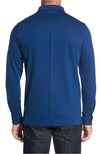 Bugatchi Long Sleeve Polo Blue