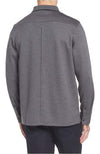 Bugatchi Long Sleeve Polo Grey