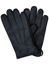 Goatskin Leather Gloves Black