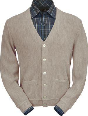 Peru Unlimited Cardigan Sand Heather