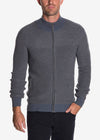 Raffi Wool Blend Zip Up Sweater