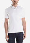 Raffi Pure Aqua Cotton Polo White