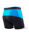 Saxx's Kinetic Boxer Brief Black/Electric Blue