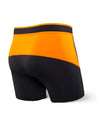 Saxx's Kinetic Boxer Brief Black/Orange