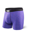 Saxx's Vibe Boxer Brief Purple Gradient Stripe