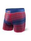 Saxx's Vibe Boxer Brief Red Binding Stripe