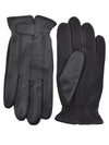 Sheepskin Leather Driving Gloves Black