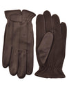 Sheepskin Leather Driving Gloves Brown