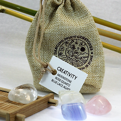 Gemstone Pouches