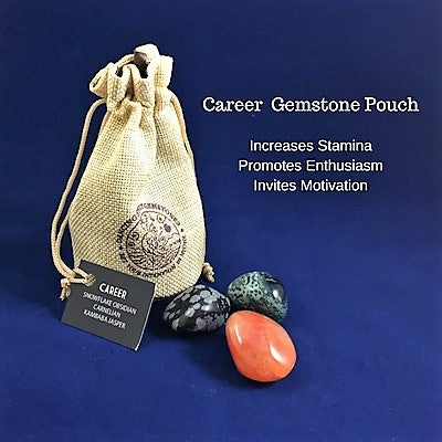 Career Gemstone Pouch