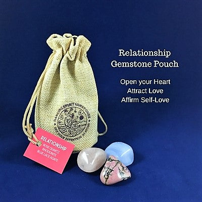 Relationship Gemstone Pouch