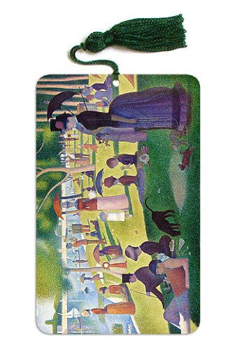 A Sunday Afternoon on the Island of La Grande Jatte Seurat Painting Bookmark