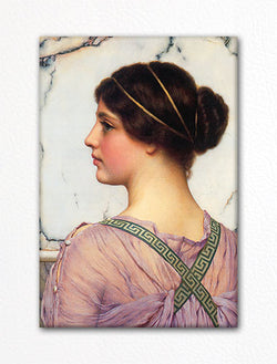A Grecian Lovely John William Godward Fridge Magnet