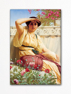 A Tryst John William Godward Fridge Magnet