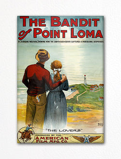 The Bandit of Point Loma Movie Poster Fridge Magnet