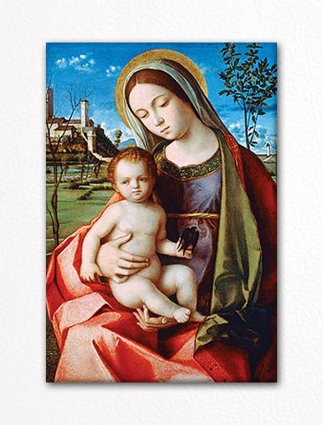 Giovanni Bellini Madonna and Child Fridge Magnet