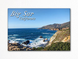 Big Sur California Fridge Magnet