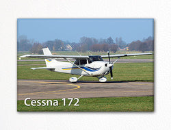 Cessna 172 Fridge Magnet