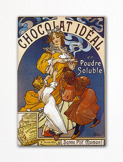 Chocolat Ideal Advertising Art Fridge Magnet