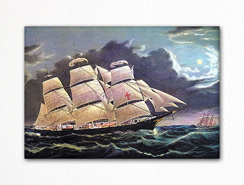Clipper Ship Dreadnought Fridge Magnet