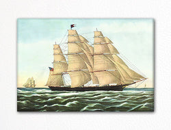 Clipper Ship Flying Cloud Fridge Magnet