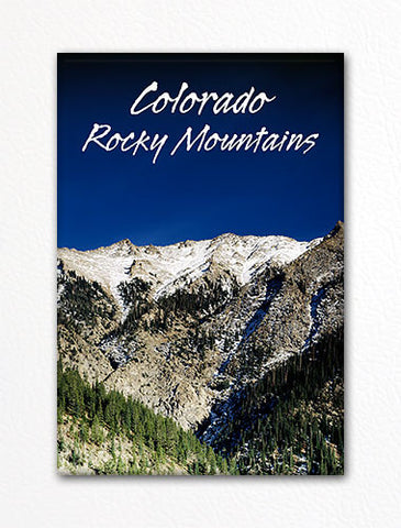 Colorado Rocky Mountains Rockies Fridge Magnet
