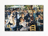 Dance at Le Moulin de la Galette Renoir Painting Fridge Magnet
