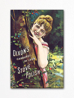 Dixons Stove Polish Advertisement Fridge Magnet