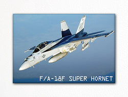 FA-18F Super Hornet Fridge Magnet