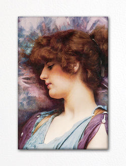 Far Away Thoughts John William Godward Fridge Magnet