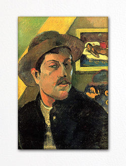 Paul Gauguin Self Portrait Fridge Magnet