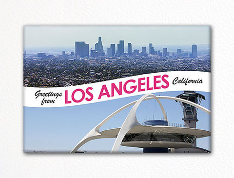 Greetings from Los Angeles Photo Fridge Magnet