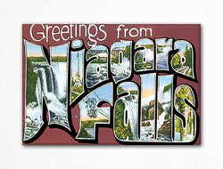 Greetings from Niagara Falls Fridge Magnet