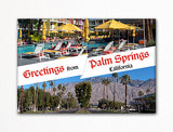 Greetings from Palm Springs Photo Fridge Magnet