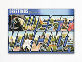 Greetings from West Virginia Fridge Magnet